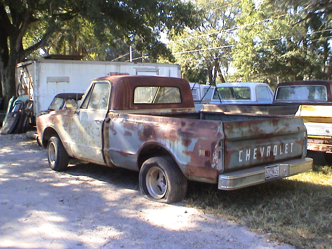 Trucks For Sale Dennis Chevy Truck Parts 1968 Pickup